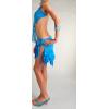 Танцевальное платье для латино-американских танцев,   камни Сваровски.